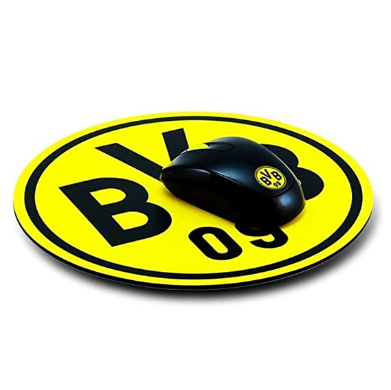 Borussia Dortmund Mousepad Emblem Mauspad Fan Edition Bvb 09 Plus Gratis Aufkleber Forever Dortmund