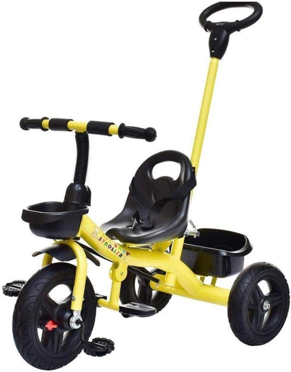 Archivadores Bicicletas for niños pequeños triciclos infantiles for niños pequeños triciclos bicicletas for niños pequeños 2-en-1 Empuje y regalos del paseo del cochecito del triciclo del bebé al aire