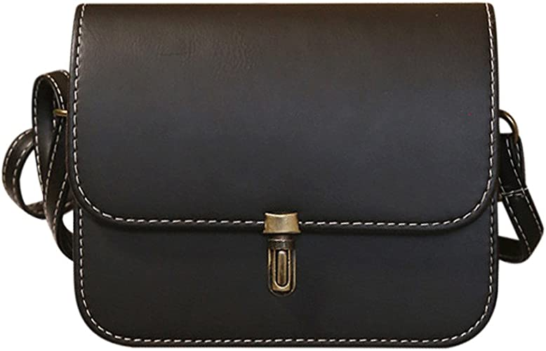 Womens Ladies Leather Handbag Shoulder Bag Tote Messenger Crossbody Bag Purse