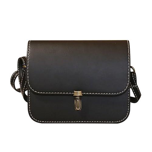 COOKI Womens Purses Handbags Ladies Satchel Fashion PU Leather Crossbody  Handbags Designer Satchel Tote Bag Shoulder Bags Clearance (Black)   Amazon.ca  ... 0ac0be91eb087