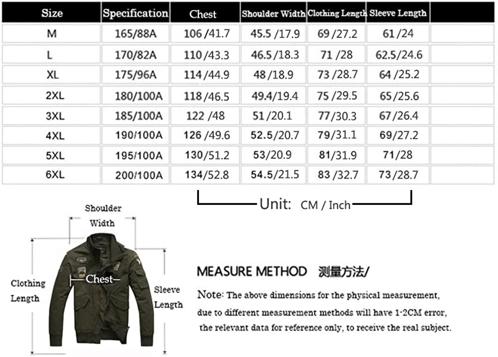 H.T.Niao Jacket8203 Men s Air Force One Collar Jackets