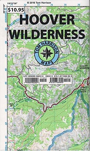 (Hoover Wilderness Region Trail Map (Tom Harrison Maps))