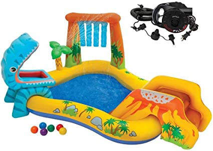 Amazon.com: Intex Dinosaur Play Center - Conjunto inflable ...