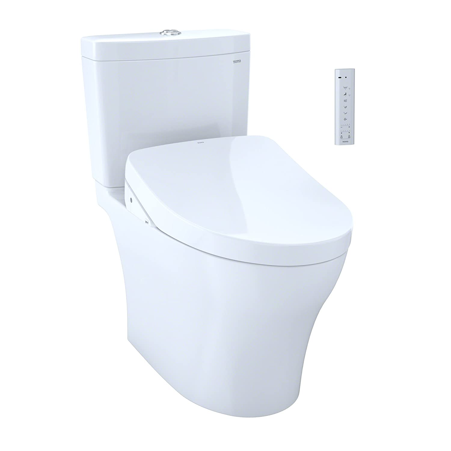 TOTO Kit Aquia IV 1G Two-Piece Elongated Dual Flush 1.0 and 0.8 Gpf ...