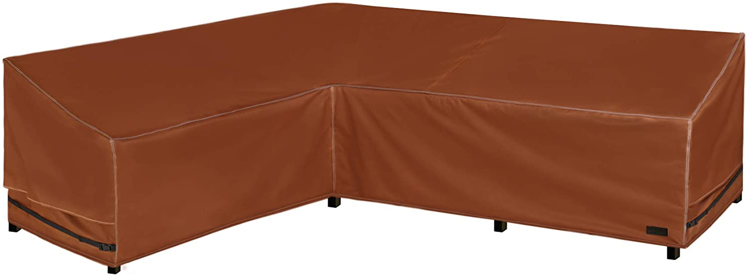 NettyPro Outdoor Sectional Couch Covers, 83