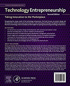 Technology Entrepreneurship, Second Edition: Taking Innovation to the Marketplace from Academic Press