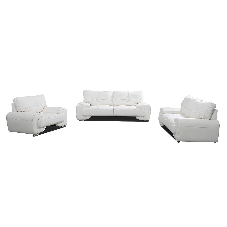 Polstergarnitur Sofa Set 3er & 2er & Sessel 3-2-1 Wohnlandschaft 3 ...