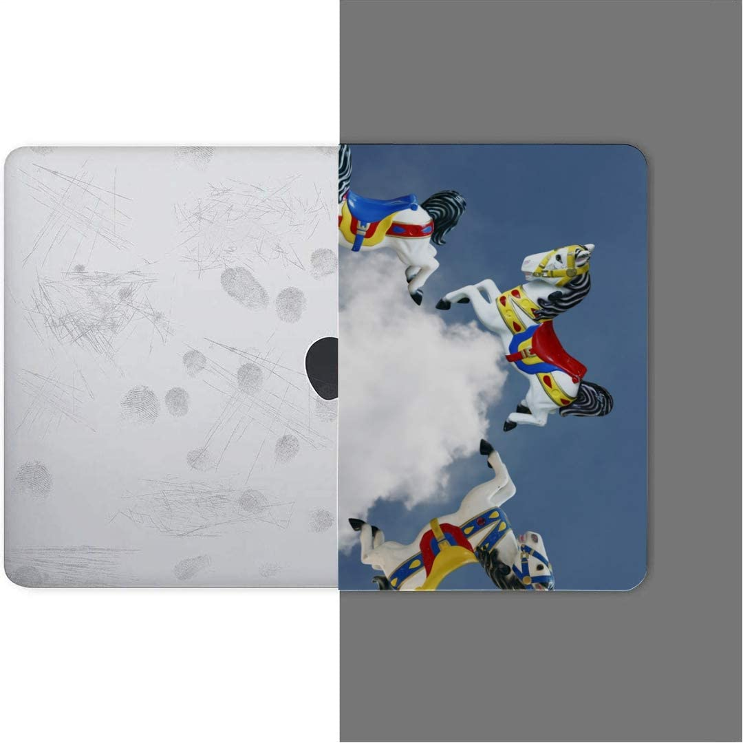 MacBook Pro Case Imaginary Colorful Horse Galloping Around Cloud MacBook Retina 12 A1534 Plastic Case Keyboard Cover /& Screen Protector /& Keyboard C