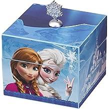 Disney Frozen Music Box Plays Let It Go With Elsa Pendant Necklace