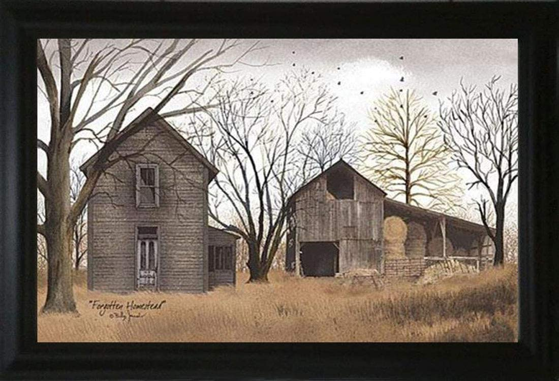 "TOD INC Forgotten Homestead - 15.5"" x 21.5"" Framed Art by Billy Jacobs"