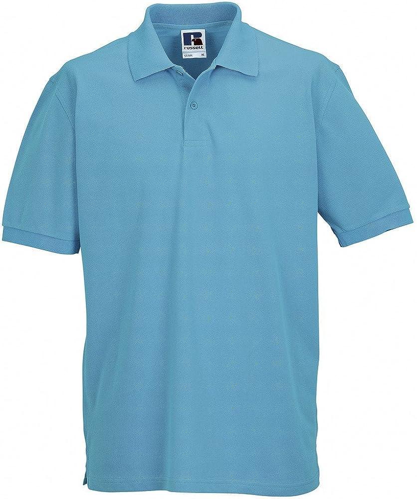 Russell j569 m – Polo Piqué 100% algodón clásico: Amazon.es: Ropa y accesorios