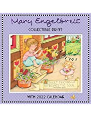 Mary Engelbreit's 2022 Collectible Print with Wall Calendar: Friends