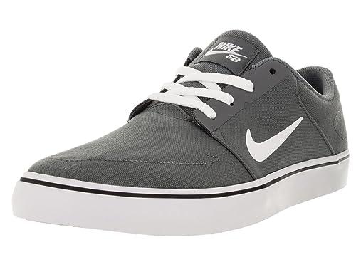 info for a2aa6 52c11 Nike SB Portmore Cnvs, Zapatillas de Skateboarding para Hombre  Amazon.es   Zapatos y complementos