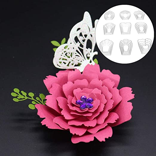 New Flowers Metal Cutting Dies Scrapbooking Embossing Paper Card Craft Making