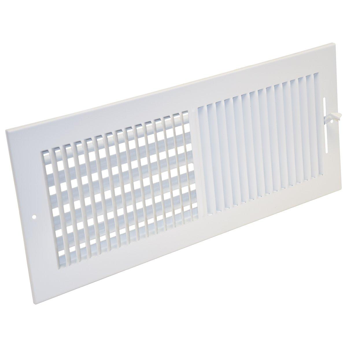 EZ-FLO 61663 Two-Way Sidewall/Ceiling Register