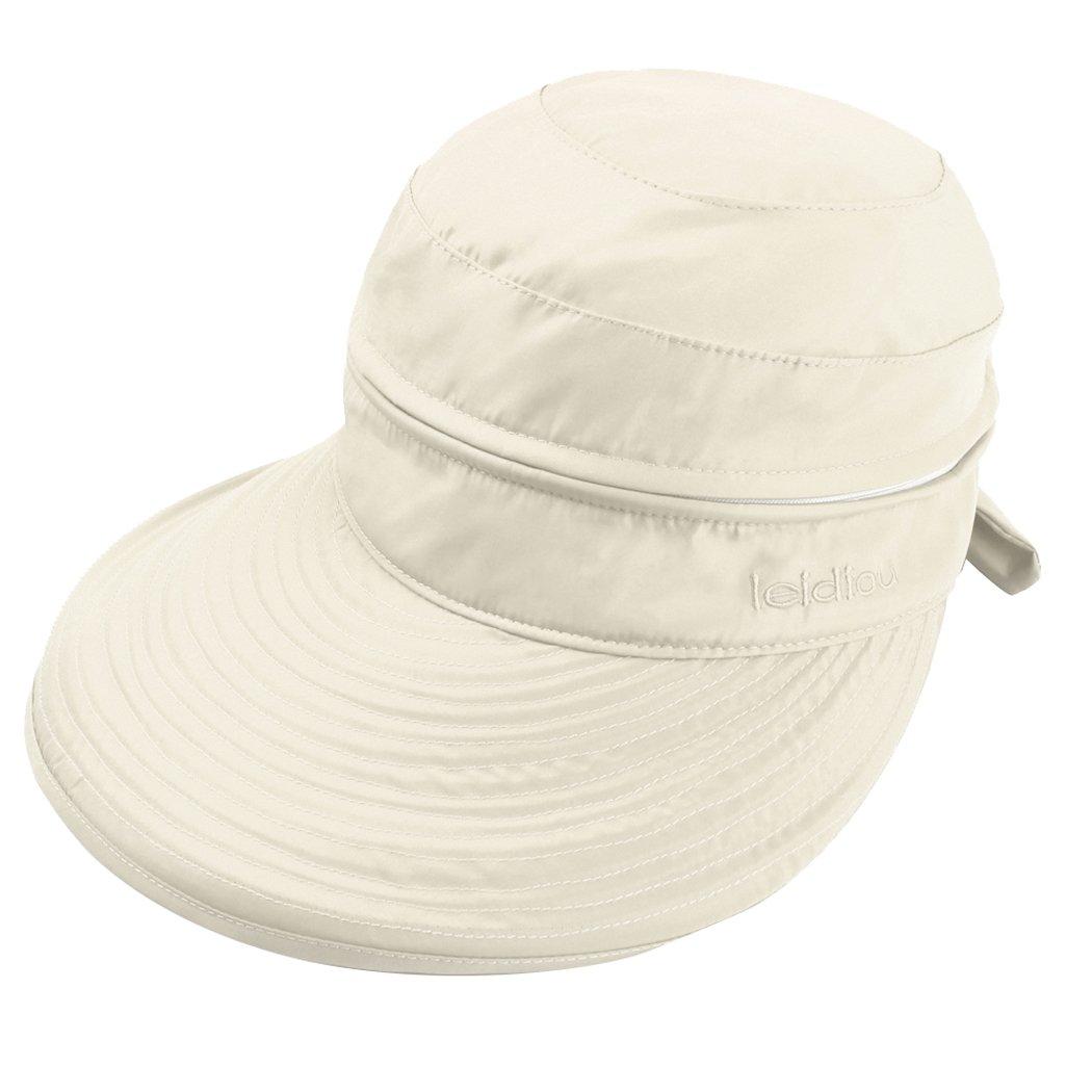 ABLE Women Wide Brim Cap UV Protection Sun Hats Visor Hats Multiple Wearing Methods