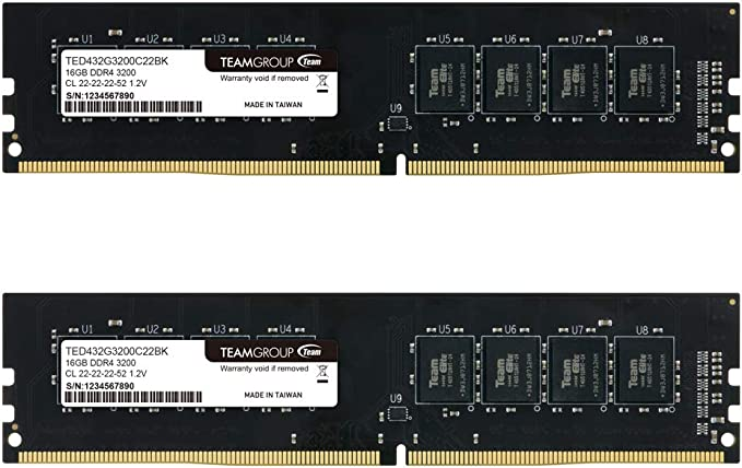 Teamgroup Elite Ted432g3200c22dc01 Ddr4 Kit Pc4 25600 Computer Zubehör