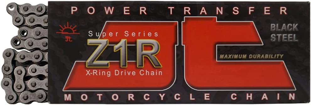 530X1R JT Sprockets 120 Link JTC530X1RNN120RL Nickel 120-Link Heavy Duty X-Ring Drive Chain