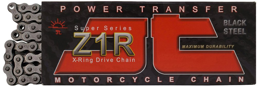 JT Sprockets JTC520Z1R116RL Steel 116-Link Super Heavy Duty X-Ring Drive Chain 520 Z1R