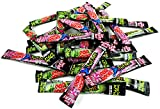 POP ROCKS XTREME Sour Popping Candy 2-Flavor Variety: Twelve 0.24 oz Packets Each of Sour Berry Blast and Savage Sour Apple in a BlackTie Box (24 Items Total)