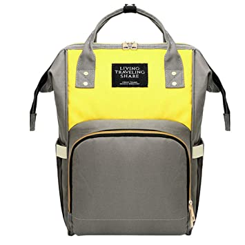 Amazon.com: Diaper Backpack, Large Capacity Baby Bag, Multi ...