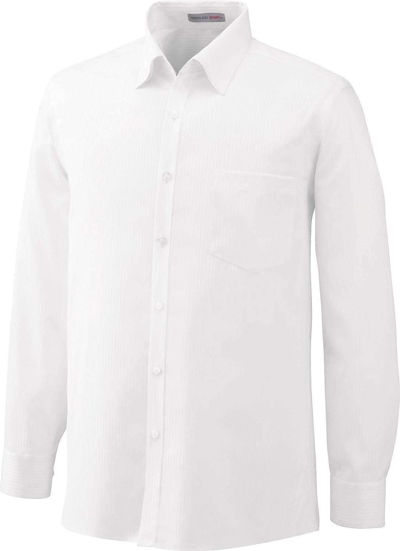 88646 White XX-Large North End Mens Wrinkle Free Striped Dress Shirt