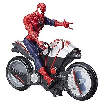 Spider-Man Marvel Titan Hero Series - Figura Ciclo de araña