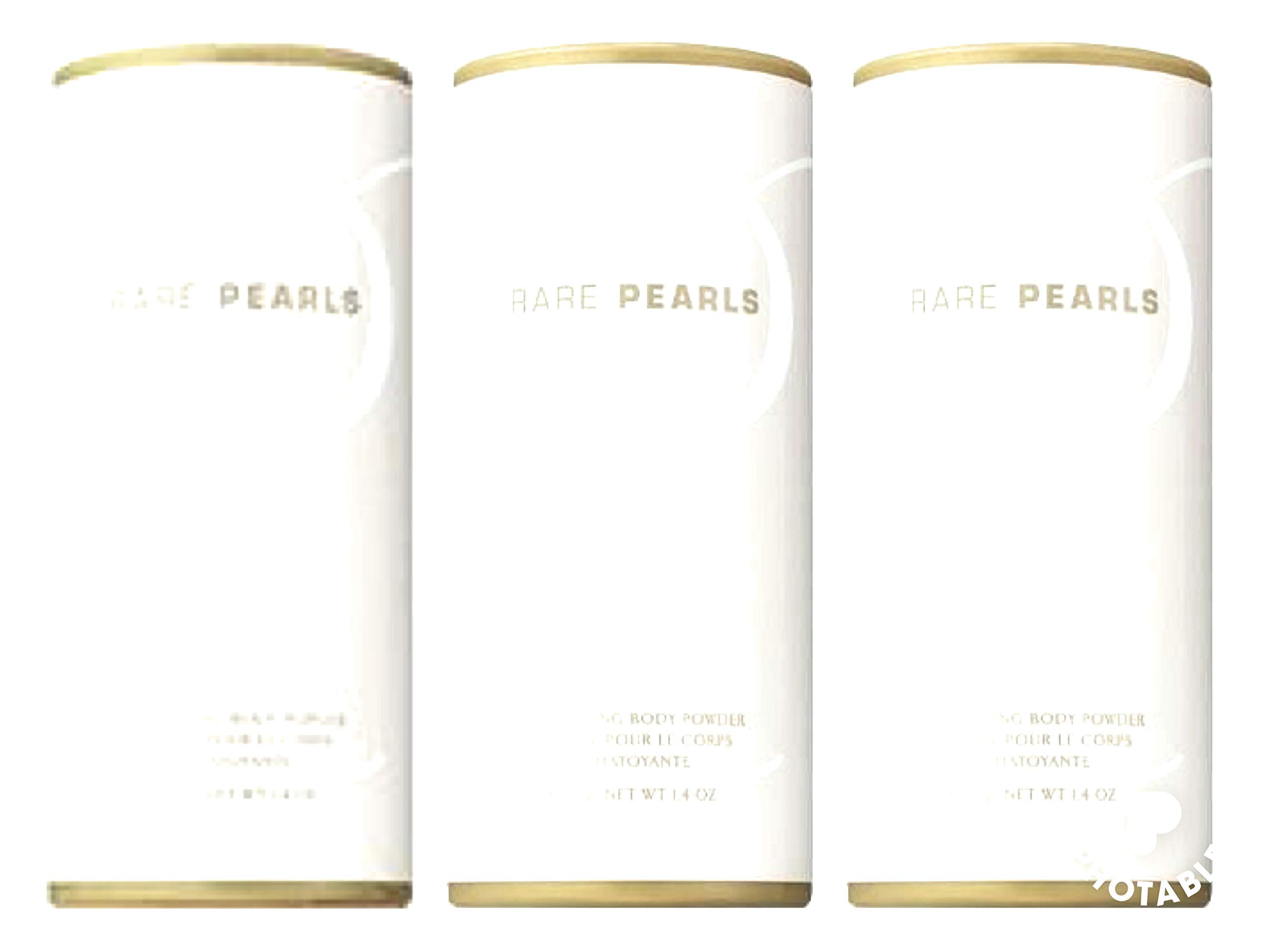 Avon Rare Pearls shimmering body powder talc 1.4 oz each old container brand new Fresh sold by TheGlamShop