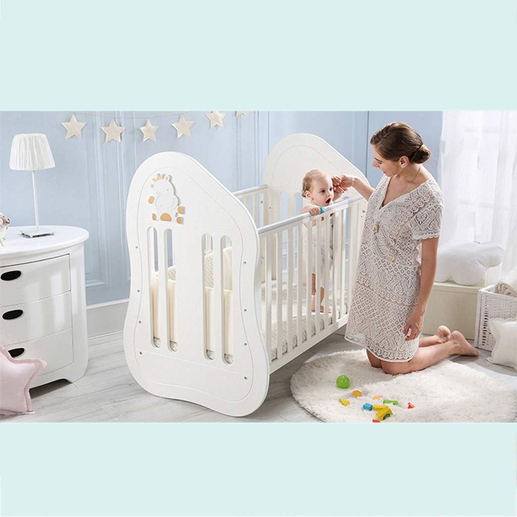 cama de cuna Cuna para bebé Madera maciza Estilo europeo ...