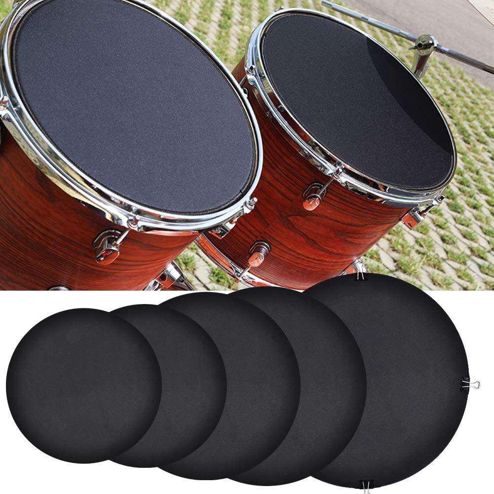 1 Stück Drum Mute Pad Drum Mute Gerät Drumhead Schalldämpfer für Drum