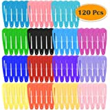 Anezus 100 Pcs Hair Barrettes Snap Hair Clips for Baby Girls Toddlers Kids Women Accessories (2 Inch)