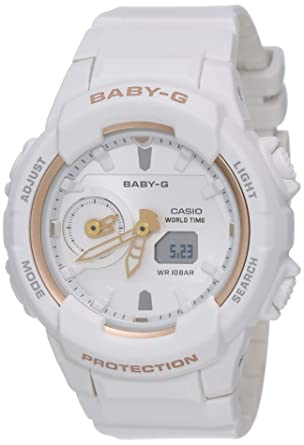 da7782f558 Buy Casio Baby-g Analog-Digital Silver Dial Women's Watch - BGA ...