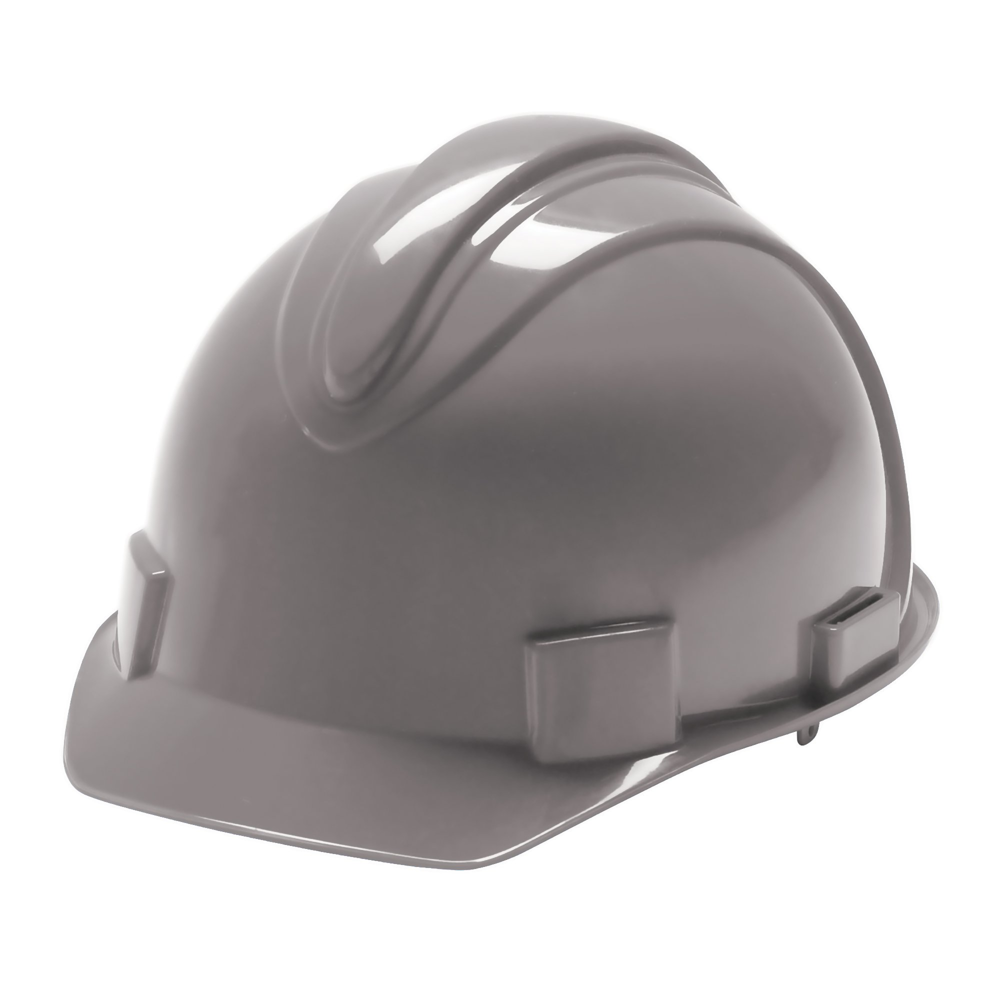 Jackson Safety Charger Hard Hat (20397), Meets ANSI Z89.1 - 2009, Choice of Suspension, Gray, 12 / Case