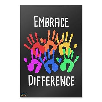 Amazon.com: graphics and more Embrace diferencia autismo ...
