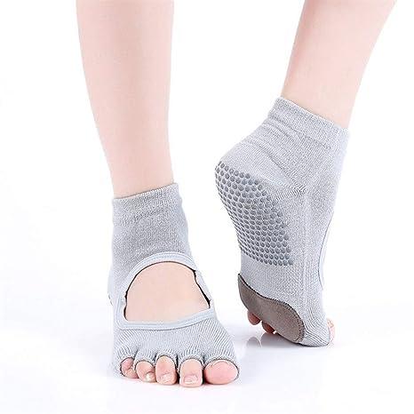 HAIYUGUAGAO Calcetines de Yoga for Mujer Calcetines ...