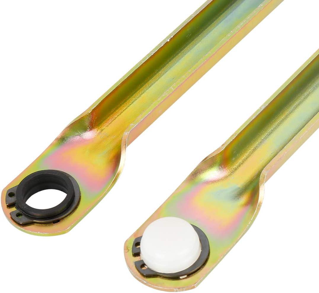 X AUTOHAUX 2 Pcs Windshield Wiper Motor Linkage Push Rod Kit for Saab 9-3 2003-2011