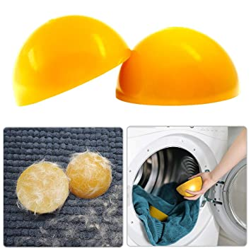 Amazon.com: Removedor de pelo para ropa secadora, no tóxico ...