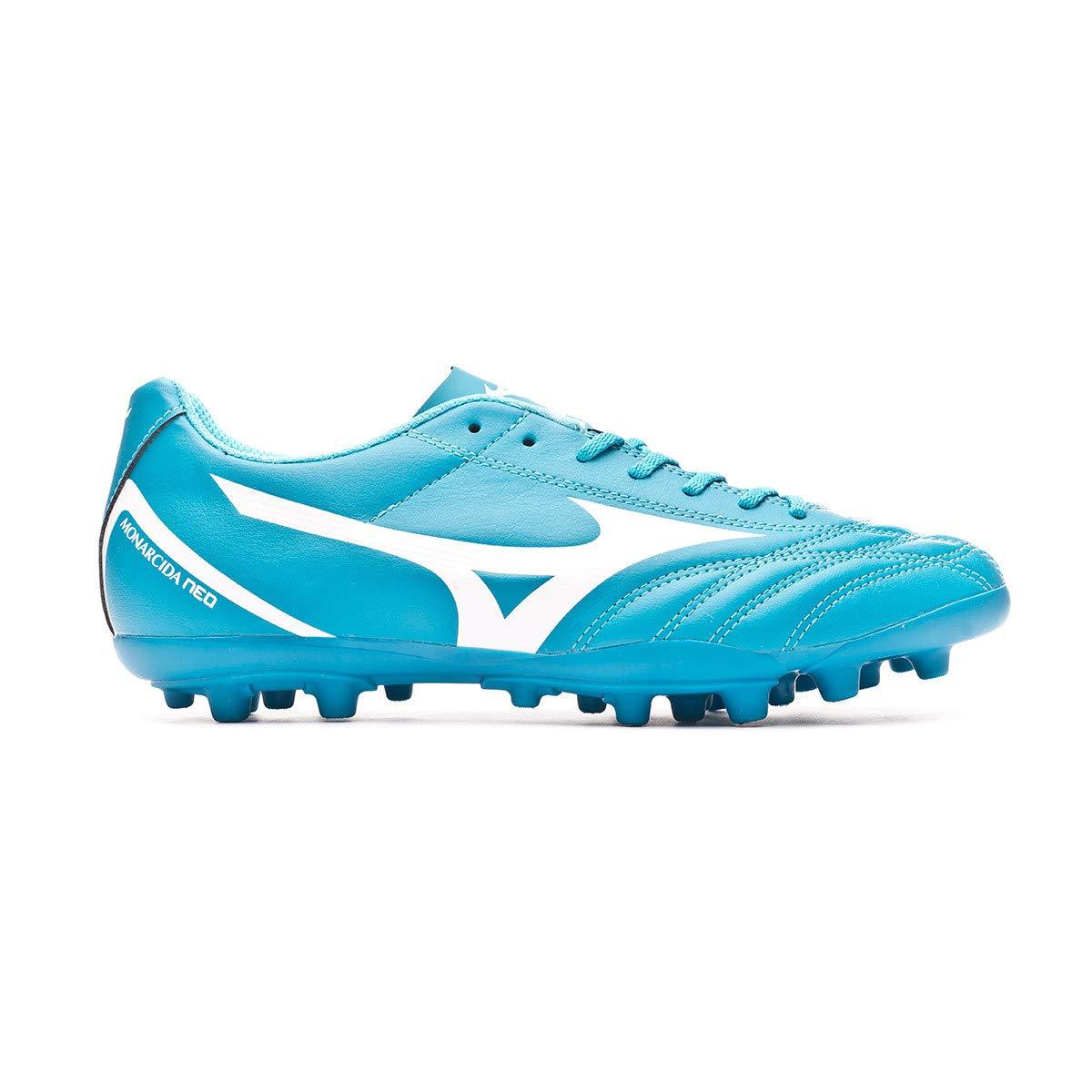 Mizuno Monarcida Neo Select AG, Scarpe da Calcio, Blue Atoll