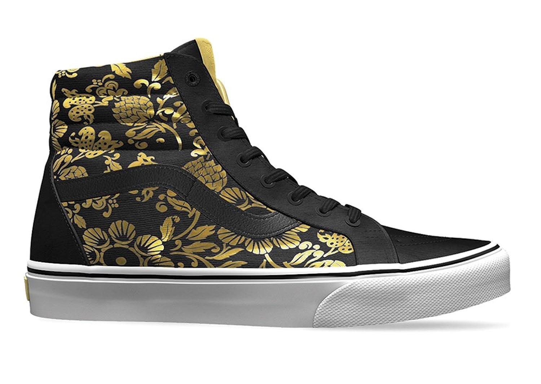 c7f99539f83 Vans Sk8-Hi Slim 50th Duke Black Gold Foil 50%OFF - promotion-maroc.com