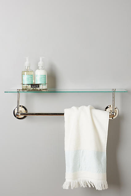 Candescent Glass Shelf - anthropologie.c​om