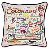 Colorado State Pillow by Catstudio