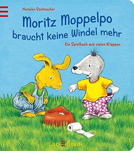 Moritz Moppelpo braucht keine Windel mehr: Ein Spielbuch mit vielen Klappen Gebundenes Buch – 1. Juni 2010 Hermien Stellmacher arsEdition 3760773850 Ab 24 Monaten