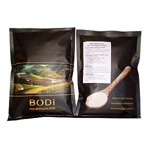 bodi : Bentonite Clay (32 oz) 100% Pure Fine Powder - Food-Grade - Excellent Skin Cleanse