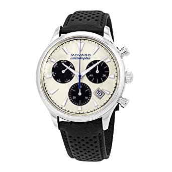 a23591682 Image Unavailable. Image not available for. Color: Movado Heritage  Chronograph Men's Watch 3650024