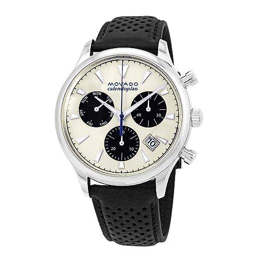 Movado Heritage 3650024 - Reloj cronógrafo para Hombre: Amazon.es: Relojes