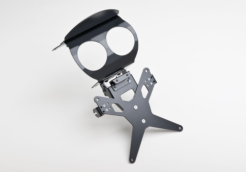 Noir GSR 600/wvb9/2006/–2011/ Rotule Protech Plaque dimmatriculation