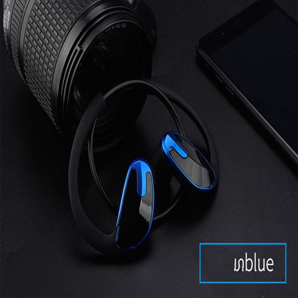 Amazon.com: GLDMT Rear Hanging Earplug Noise Reduction Business Headset V4.1 Wireless Sports Stereo CSR Bluetooth Headset Long Standby Waterproof and ...