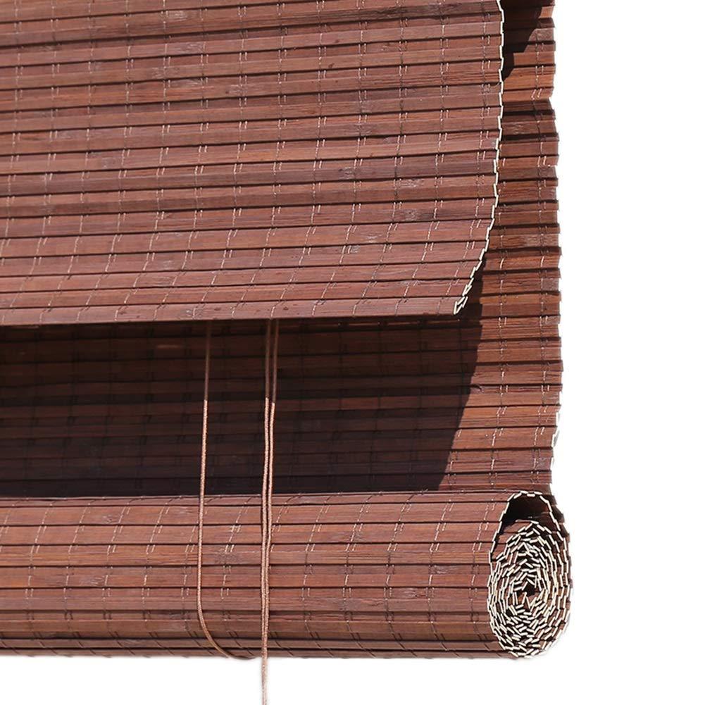 すだれ 木製ローラーブラインド、バルコニー/屋外パビリオン用、縦型遮光ブラインド、サイドプル付き、60/80/100/120/140ワイド (Size : 80×240cm) 80×240cm  B07SXV8CPX