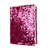 Office Products : Magic Sequin! Reversible Sequin Pink to Silver Journal