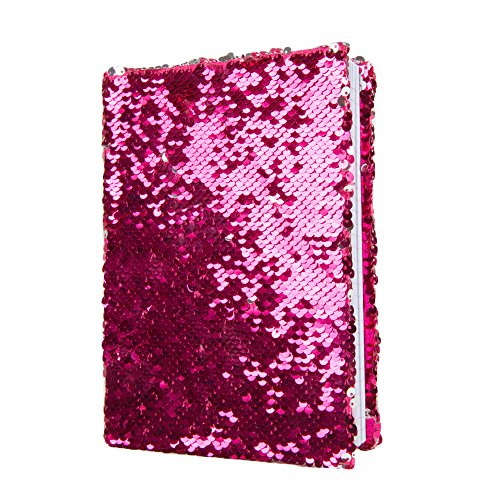 Magic Sequin! Reversible Sequin Pink to Silver Journal (Journal That)